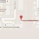 Arizona Medical Board Location Map Image