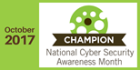 National Cyber Security Awareness Month 2017